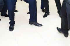 Hommes de danse Images libres de droits