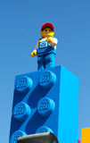 Hommes de Lego Photographie stock
