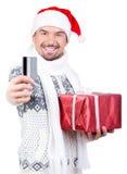 Hommes de Noël Photographie stock libre de droits