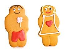 Hommes de pain d'épice Photographie stock libre de droits