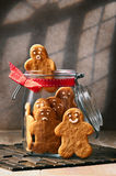 Hommes de pain d'épice Photo stock