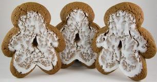 Hommes de pain d'épice Image stock