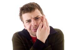 Hommes en douleur Photos stock