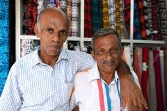 Hommes et amitié dans Sri Lanka Photos stock
