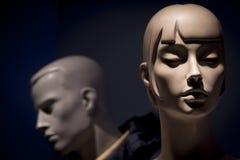 Hommes et femme de mannequins Image stock