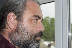 Hommes gris de cheveux Photographie stock