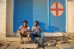 Hommes indiens locaux Image libre de droits