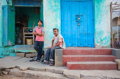 Hommes indiens locaux Photo stock