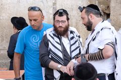 Hommes juifs Image libre de droits