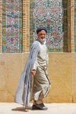 Hommes religieux à Chiraz, Iran photos libres de droits