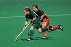 hommes s d'hockey de champ action Photo libre de droits