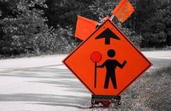Hommes travaillant le signe photo libre de droits