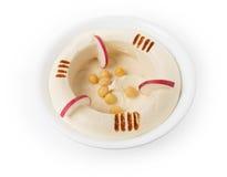 Hommos Plate , Lebanese Cuisine Stock Photos