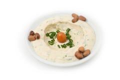 Hommos Plate - Lebanese Cuisine. Stock Photos