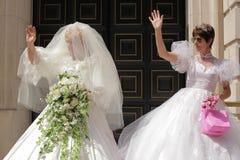 Homoäktenskap Fotografering för Bildbyråer