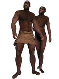Homo Erectus. 3d render of a Homo Erectus Stock Photos