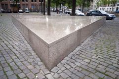 Homo monument amsterdam Royalty Free Stock Photo