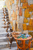 Sapiens Museum on Crete Stock Photo
