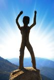 Homo sapiens sculpture Royalty Free Stock Image