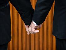 Homobröllop Fotografering för Bildbyråer