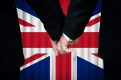 Homobröllop i Förenade kungariket Fotografering för Bildbyråer