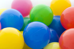 Homologated colour balls Royalty Free Stock Photo