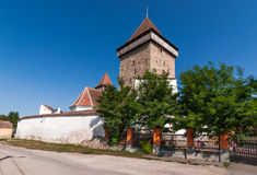 Homorod Church, Transylvania, Romania Stock Photography