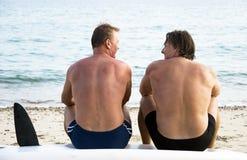 homoseksualiści dwa Zdjęcia Royalty Free