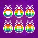 Homoseksualista christmas-06 ilustracji