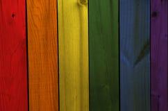 Homoseksualista flaga Zdjęcie Royalty Free