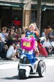 homoseksualista godden cajgową parady dumę Seattle Obraz Stock