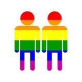 homoseksualna duma on i on symbol Obrazy Stock