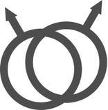homoseksualna duma jej i jej symbol Zdjęcie Stock