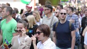 Homoseksualna duma 2017 w Kijów zdjęcie wideo