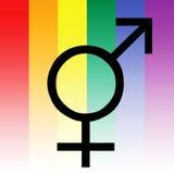 homoseksualna ikona Zdjęcie Royalty Free