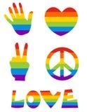 homoseksualna ikona s Obraz Royalty Free