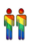 homoseksualna miłość Zdjęcie Stock