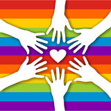 homoseksualna miłość royalty ilustracja