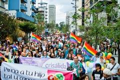 Homoseksualna parada Obrazy Royalty Free