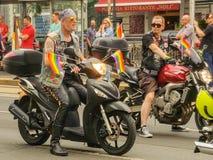 Homoseksualna parada Vienna zdjęcie stock