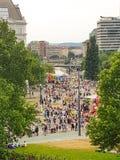 Homoseksualna parada Vienna zdjęcia royalty free