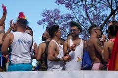 Homoseksualnej dumy świętowanie w Torremolinos, MÃ ¡ laga 18 zdjęcie stock
