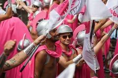 Homoseksualnej dumy Kanałowa parada Amsterdam 2014 Obrazy Stock