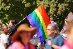Homoseksualnej dumy parada Zdjęcia Stock