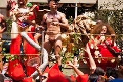Homoseksualnej dumy parada Tel Aviv 2013 Zdjęcia Stock
