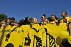 Homoseksualnej dumy parada 2013 w Sztokholm Zdjęcie Royalty Free