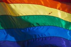 Homoseksualnej dumy tęczy pokoju flaga Zdjęcie Royalty Free