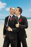 homoseksualny ślub Zdjęcia Royalty Free