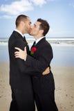 homoseksualny ślub Zdjęcie Royalty Free