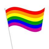 Homoseksualny tęcza symbol Zdjęcie Stock